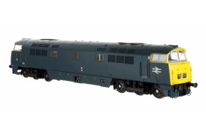Dapol OO 4D-003-018 Class 52 D1041 'Western Prince' BR Blue with Full Yellow Ends