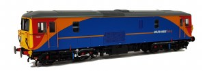 Dapol OO 4D-006-012 Class 73 235 South West Trains