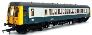 Dapol OO 4D-009-003 Class 121 Bubble Ca W55029 BR Blue/Grey