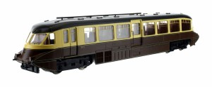 Dapol OO 4D-011-007 Streamlined Railcar W11 BR Lined Chocolate and Cream