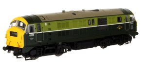 Dapol OO 4D-014-000 Class 29 6112  BR Two Tone Green with Full Yellow Ends