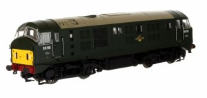 Dapol OO 4D-025-003 Class 21 Bo-Bo D6116  BR Green with Small Yellow Panels
