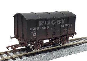 Dapol OO 4F-013-121 Gunpowder Van Rugby Cement 12 Weathered