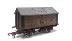 Dapol OO 4F-017-014 Lime Wagon Glan Yr Afon Weathered
