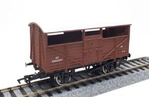 Dapol OO 4F-020-029 Cattle Wagon BR B893325