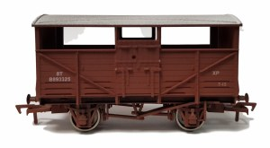 Dapol OO 4F-020-030 Cattle Wagon BR B893325 Weathered