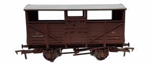 Dapol OO 4F-020-036 Cattle Wagon BR B893460 Weathered
