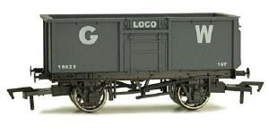 Dapol OO 4F-030-013 16T Steel Mineral Wagon 18623 GWR Grey