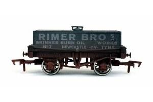Dapol OO 4F-032-022 Rectangular Tank Rimer Bros 7 Weathered