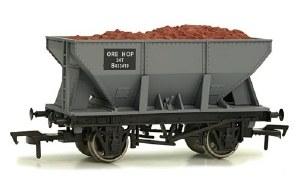 Dapol OO 4F-033-011 24T Steel Ore Hopper Wagon B433419 BR Grey