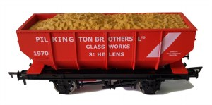 Dapol OO 4F-034-110 21T Hopper Pilkington 1970