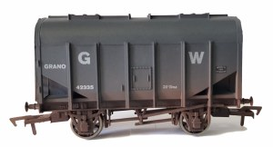 Dapol OO 4F-036-028 Bulk Grain Hopper GWR 42335 Weathered