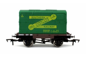 Dapol OO 4F-037-005 Conflat & Container SR K584