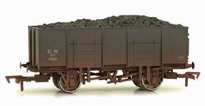 Dapol OO 4F-038-006 20T (21T glw) Steel Mineral Wagon 33264 GWR Grey Weathered