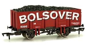 Dapol OO 4F-038-100 20T (21T glw) Steel Mineral Wagon Bolsover