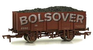 Dapol OO 4F-038-101 20T (21T glw) Steel Mineral Wagon Bolsover Weathered