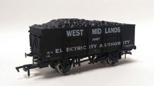 Dapol OO 4F-038-102 20T (21T glw) Steel Mineral Wagon West Midland Joint Electricity Authority