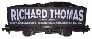 Dapol OO 4F-038-106 20T Steel Mineral Richard Thomas 23307