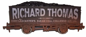 Dapol OO 4F-038-107 20T Steel Mineral Richard Thomas 23307 Weathered