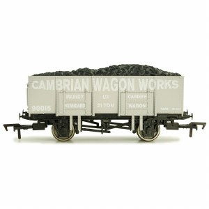 Dapol OO 4F-038-108 20T Steel Mineral Wagon Cambrian Wagon Works