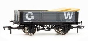 Dapol OO 4F-040-007 4 Plank Wagon 45583 GWR Grey