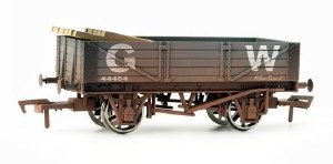 Dapol OO 4F-040-008 4 Plank Wagon 45583 GWR Grey Weathered