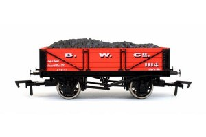 Dapol OO 4F-040-015 4 Plank Wagon B W Co 1114
