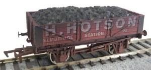 Dapol OO 4F-040-018 4 Plank Wagon H Hotson 22 Weathered