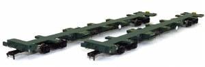 Dapol OO 4F-044-008 FEA-B Spine Wagon Twin Pack OO Freightliner 640177+ 640178