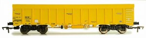 Dapol OO 4F-045-013 IOA Ballast Wagon Network Rail Yellow 3170 5992 005-6