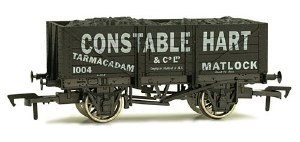 Dapol OO 4F-051-021 5 Plank Wagon 10' Wheelbase Constable Hart
