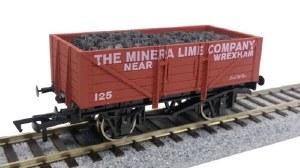 Dapol OO 4F-051-035 5 Plank Wagon Minerva Lime
