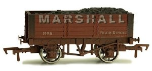 Dapol OO 4F-052-030 5 Plank 9 Ft W/B Marshall 5 Weathered