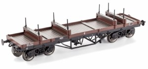 Dapol OO 4F-061-003 Bogie Bolster Wagon BR 923528 Bauxite (TOPS YRV (S&T))