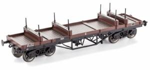 Dapol OO 4F-061-006 Bogie Bolster Wagon BR 924327 Bauxite (TOPS BEV)