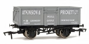 Dapol OO 4F-030-007 16T Steel Mineral Atkinson and Prickett