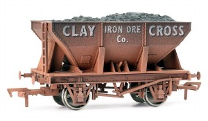 Dapol OO 4F-033-010 24T Steel Ore Hopper Clay Cross Weathered