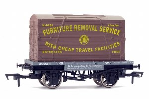 Dapol OO 4F-037-003 Conflat and Container GWR