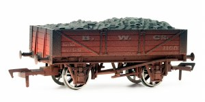 Dapol OO 4F-040-002 4 Plank B W Co Weathered