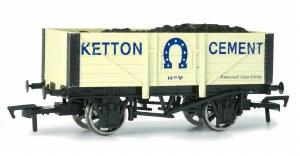 Dapol OO 4F-051-007 5 Plank Wagon Kelton Cement