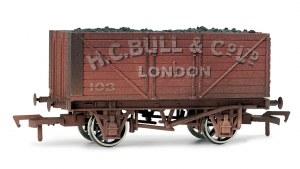 Dapol OO 4F-080-002 Bull 8 Plank Wagon Weathered