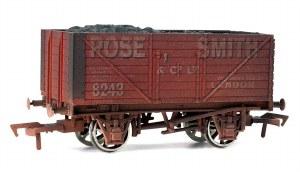 Dapol OO 4F-080-103 8 Plank Wagon Rose Smith Weathered