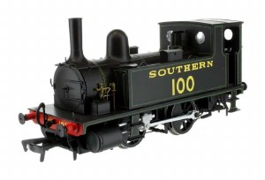 Dapol OO 4S-018-008 B4 0-4-0T Southern Black lined green100