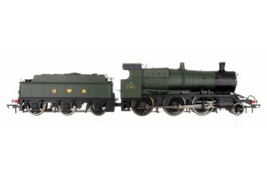 Dapol OO 4S-043-003 4300 Mogul 2-6-0 GWR Green with GWR & BR Smoke Box Number Plate