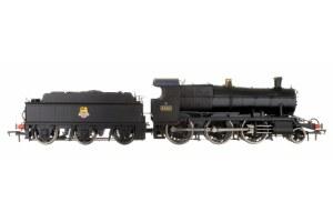 Dapol OO 4S-043-004 4300 Mogul 2-6-0 7324 BR Black Early Emblem