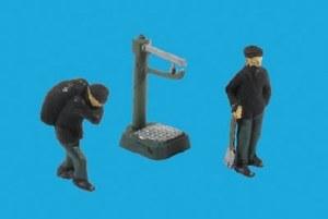 Model Scene OO 5029 Coalmen and Scales