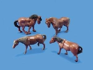 Model Scene OO 5105 Horses and Ponies