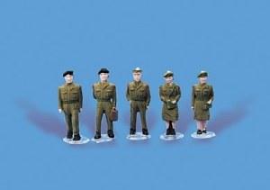 Model Scene OO 5116 Army Personnel