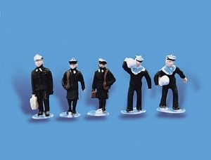 Model Scene OO 5117 Navy Personnel