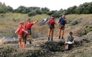 Model Scene OO 5122 Hikers
